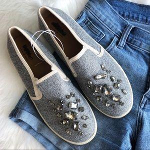 Target • Gray Crystal Sneakers